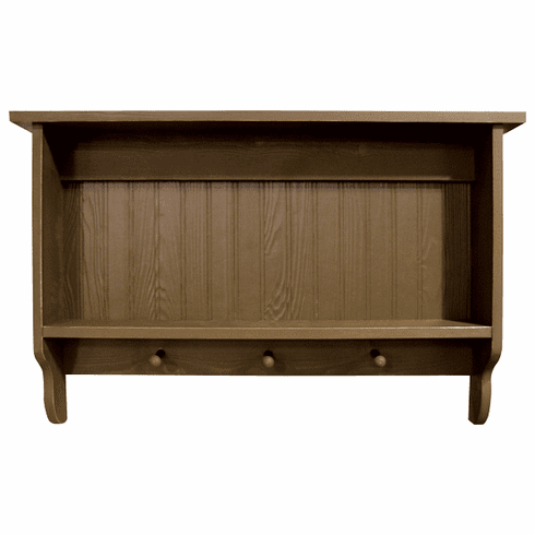 "36"" Wood Wall Shelf - Knick Knack Shelf"
