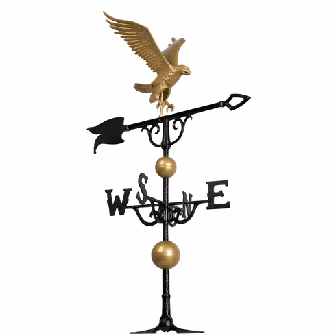 46 inches Eagle Weathervane - Gold-Bronze