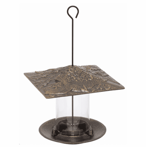 6 inches Cardinal Tube Feeder - French Bronze