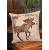 Alpine Woods Moose Pillow