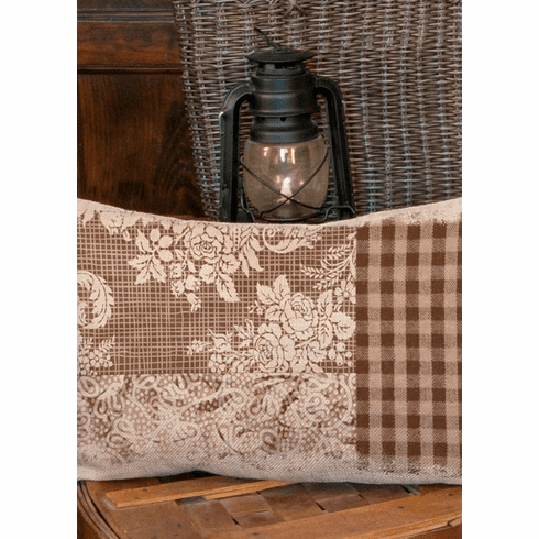Alpine Woods Textural Pillow