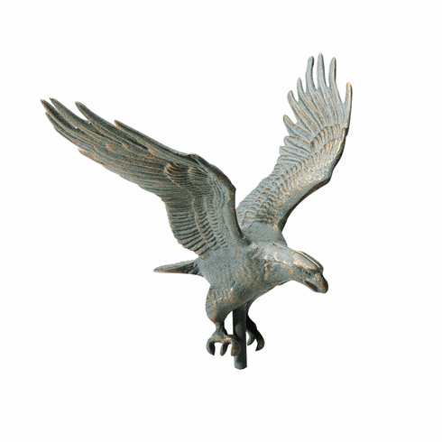 "American Eagle Weathervane - 30"" Weathervane w/Full Bodied Eagle Ornament"