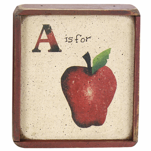 Apple Country Decor - Apple (Whole)