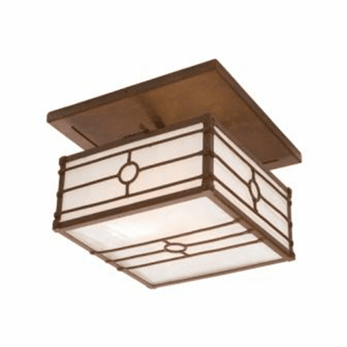 Arts and Crafts Historic California Drop Ceiling Mount