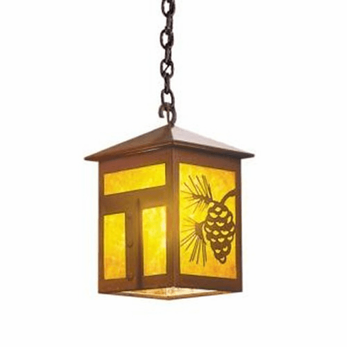 Arts and Crafts Mission Small Pendant Light