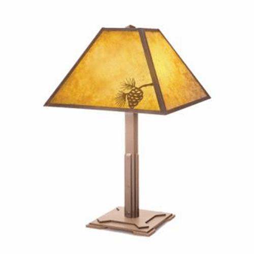 Arts and Crafts Mission Table Lamp