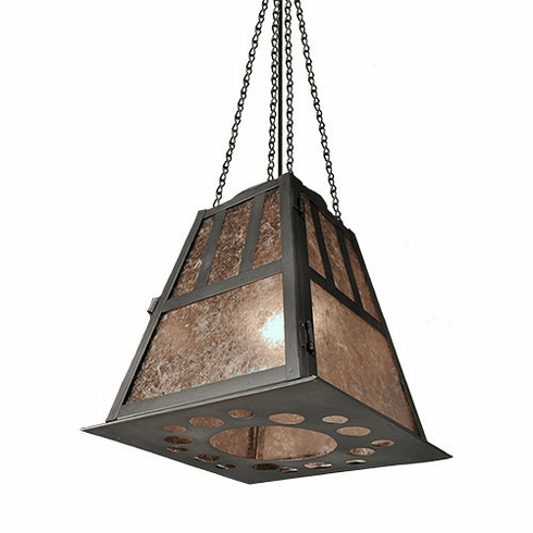 Arts and Crafts Monterey Pendant Light