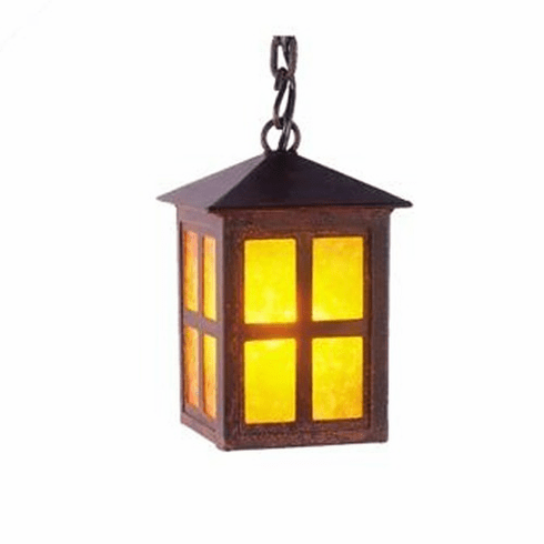 Arts and Crafts Old Faithful Small Pendant Light