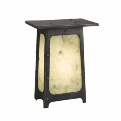 Arts and Crafts Orange Grove Wet Wall Sconce