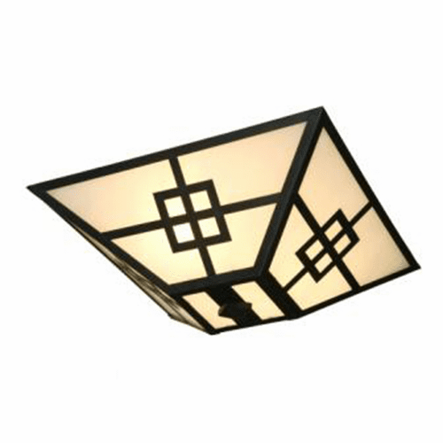 Arts and Crafts Prairie Drop Ceiling Mount