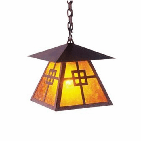Arts and Crafts Prairie Pendant Light