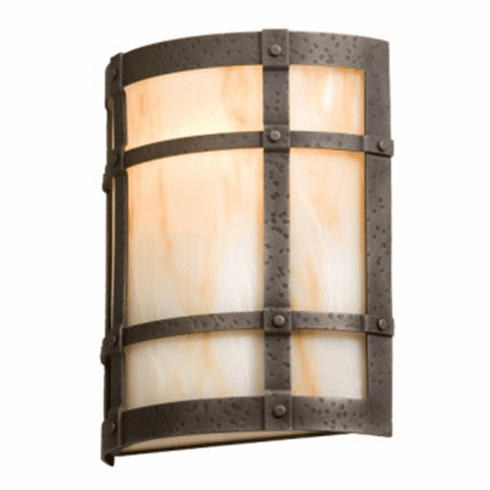 Arts and Crafts San Carlos Timber Ridge Wall Sconce