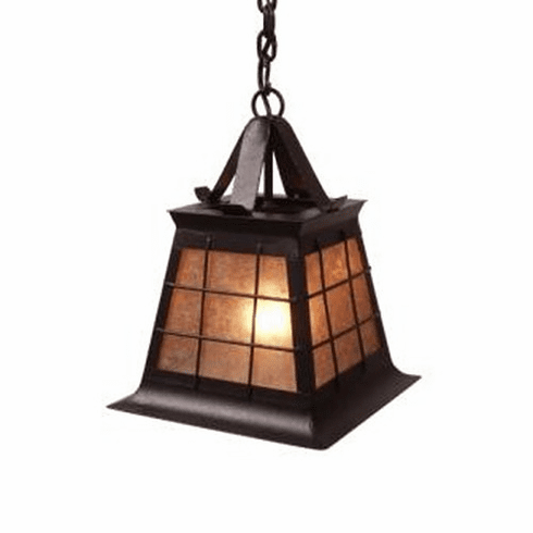 Arts and Crafts Topridge Small Pendant Light