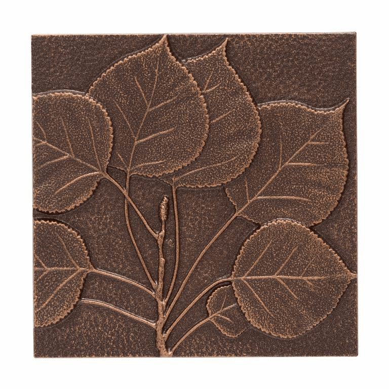 Aspen Leaf Wall Decor - Antique Copper
