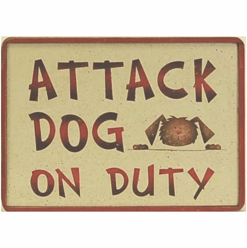 Attack Dog on Duty