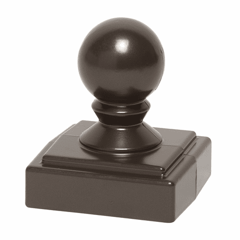 Ball Finial in Bronze