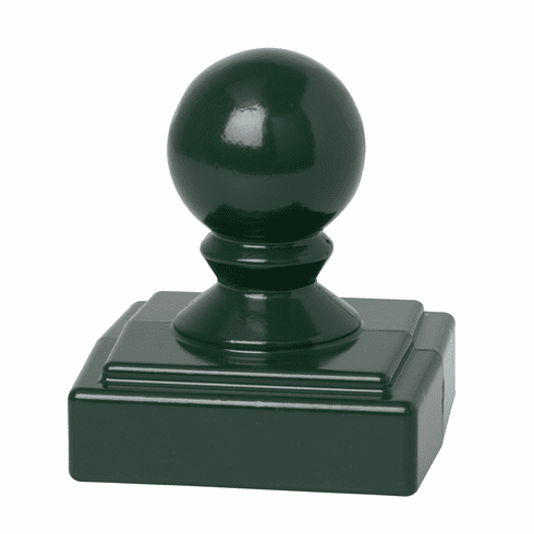 Ball Finial in Green