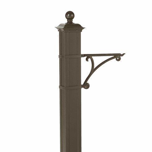 Balmoral Post Plant Hanger in Bronze