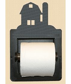 Barn Toilet Paper Holder (Recessed)