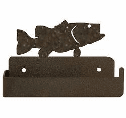Bass One Piece Toilet Paper Holder