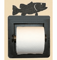 Bass Toilet Paper Holder (Recessed)