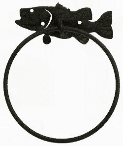 Bass Towel Ring