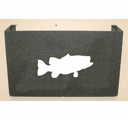 Bass Wall Mount Magazine Rack