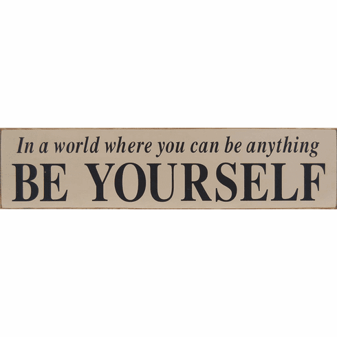 Be Yourself - Self Motivation