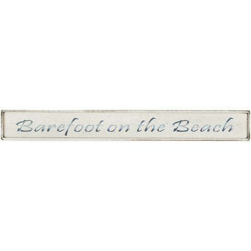 Beach House Decor - Barefoot on the Beach