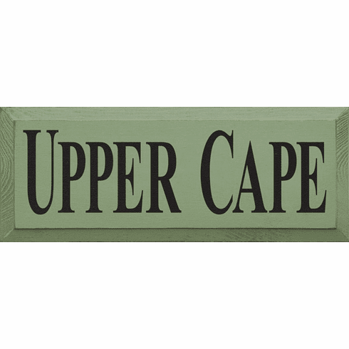 Beach & Lake Sign...Upper Cape