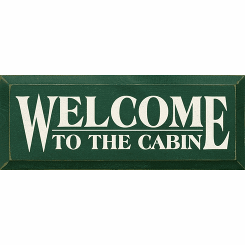 Beach & Lake Sign...Welcome To The Cabin