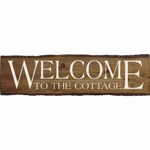 Beach & Lake Sign...Welcome To The Cottage (Large)