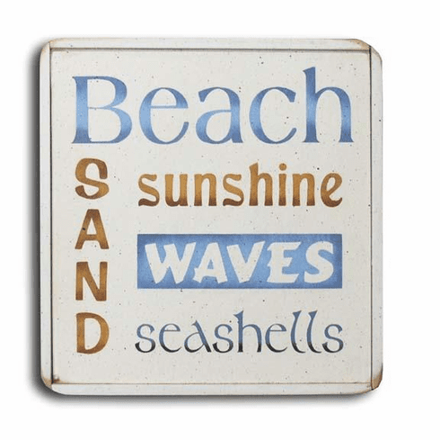Beach, Sunshine, Sand, Waves, Seashells