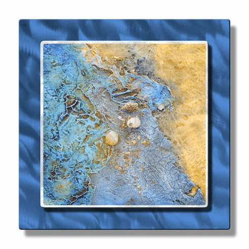 Beach Treasures Aloft Metal Wall Art