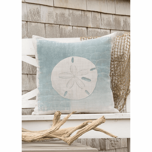 Beachcomber Sand Dollar Pillow