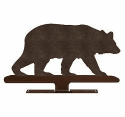 Bear Design Mailbox Ornament