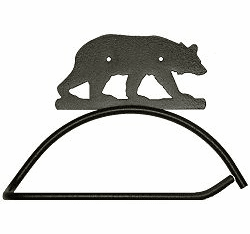 Bear Design Paper Towel/Toilet Paper Holder