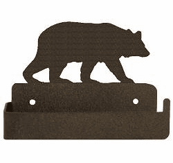 Bear One Piece Toilet Paper Holder