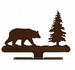 Bear with Tree Mailbox Top