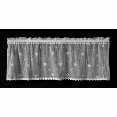 Bee Valance With Trim