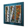 Birch Trees II Metal Wall Decor