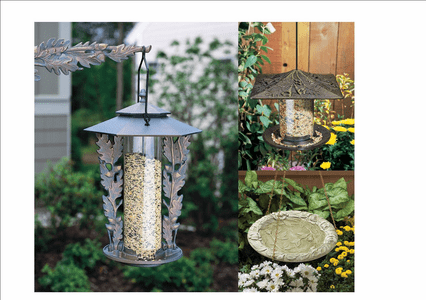 Bird Feeders, Baths