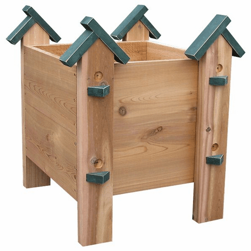 Birdhouse Planter Box, 21.5 inch wide