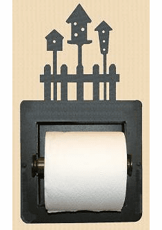Birdhouse Toilet Paper Holder (Recessed)