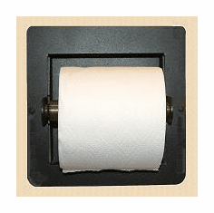 Blank Toilet Paper Holder (Recessed)