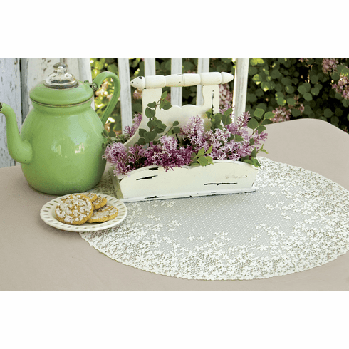 Blossom Large Doily, set of 3