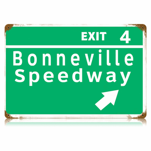 Bonneville Speedway Sign - Racing Fan Gift