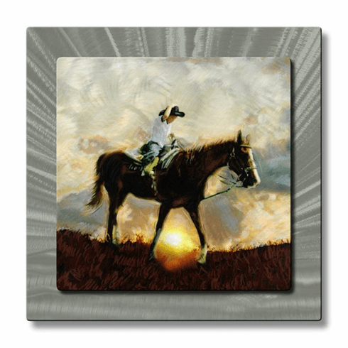 Boy on Horse Wall Art