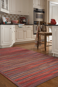BRAIDED AREA RUGS