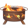 Bronco Rider Fire Pit - Outdoors Fire Pit